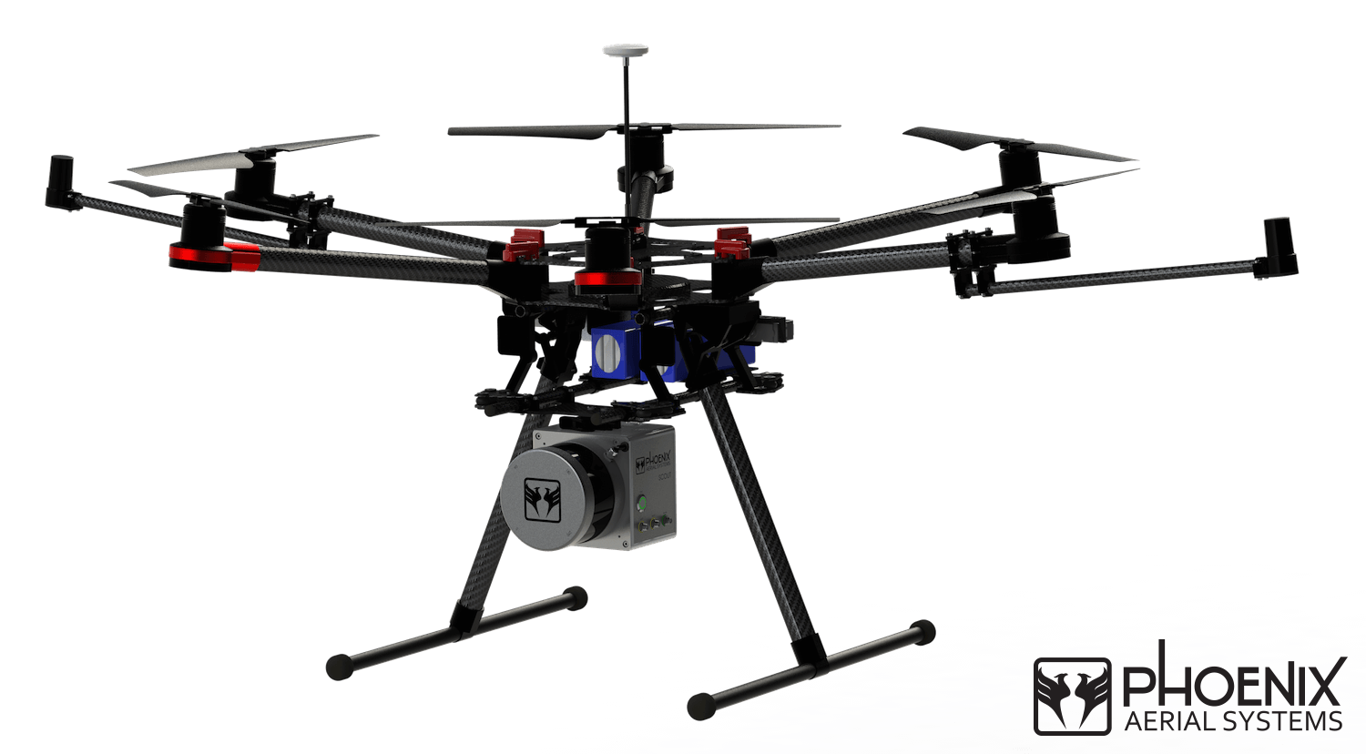 phoenix aerial rolls out the scout uav lidar system unmanned aerial. Black Bedroom Furniture Sets. Home Design Ideas
