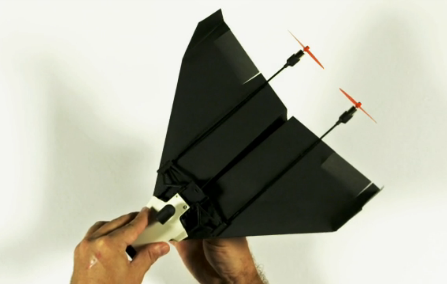 powerup-fpv PowerUp & Parrot's Paper-Airplane FPV Drone Hits Funding Goal in 4 Hours