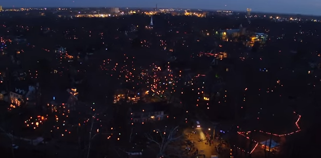 Screen-shot-2015-12-30-at-11.07.15-AM UAV Captures View of N.C. Neighborhood's Vast Holiday Light Display