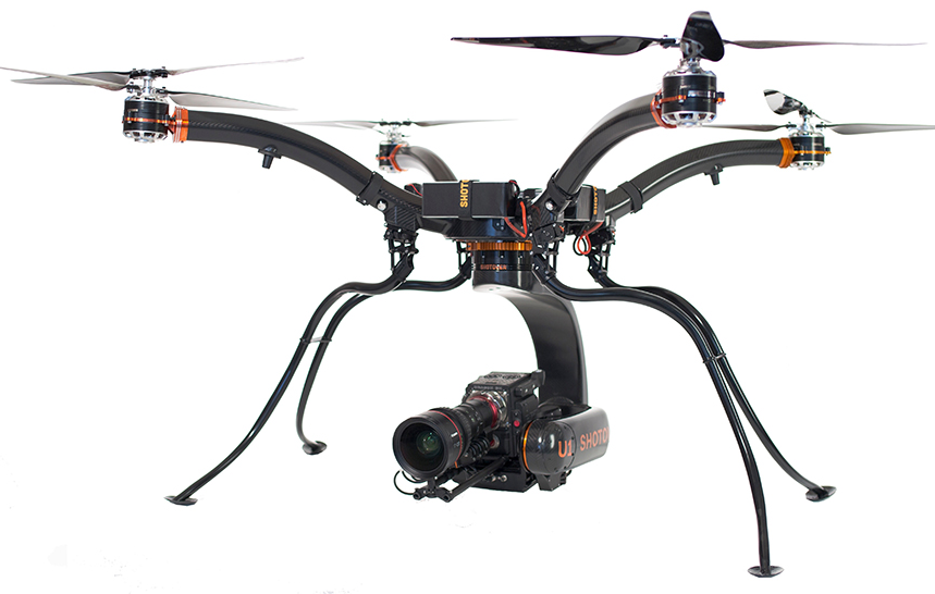 shotover-1 Pro-Cam Rentals Offers SHOTOVER U1 Drone in New Aerial Division