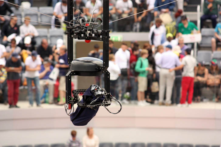 471402943 Newly FAA-Approved 'America's Team' Touts Drones Over Skycam