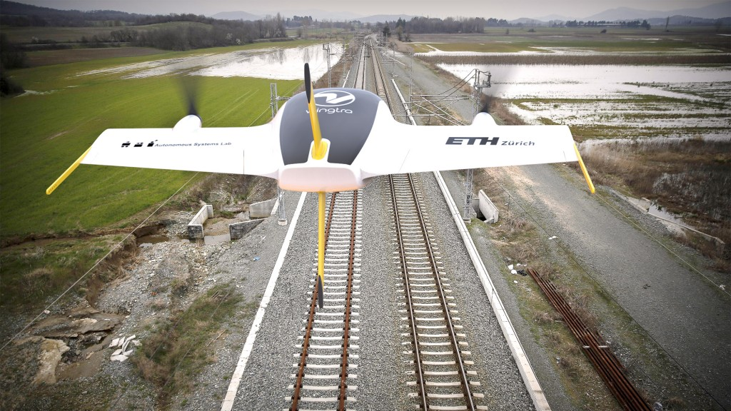 Wingtra UAV - Train